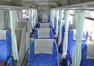 3列独立・車内の座席の並び