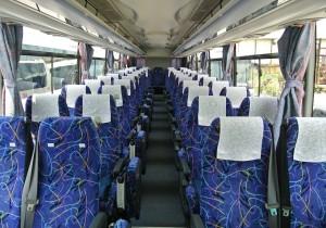 4列シート・車内の座席の並び