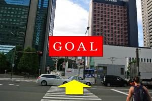 阪急梅田からプラザモータープール7・到着