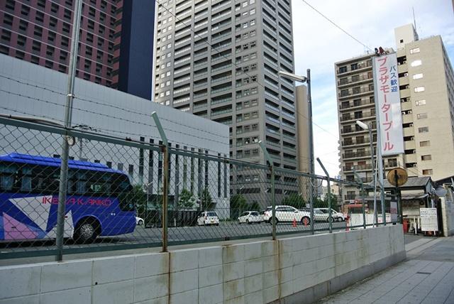 中津駅からプラザモータープール道順・到着