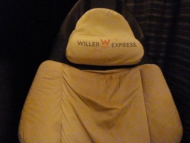 コクーン座席の枕