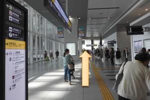 JR大阪駅からプラザモータープール2