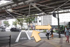JR大阪駅からプラザモータープール10