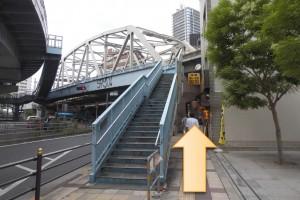 JR大阪駅からプラザモータープール9
