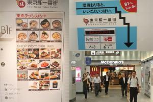 東京駅食事