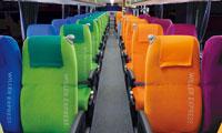 WILLER EXPRESS4列シートの座席