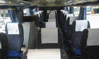 南海バス サザンクロス車内