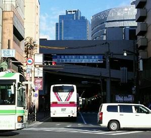 大阪梅田 阪急三番街バスターミナル