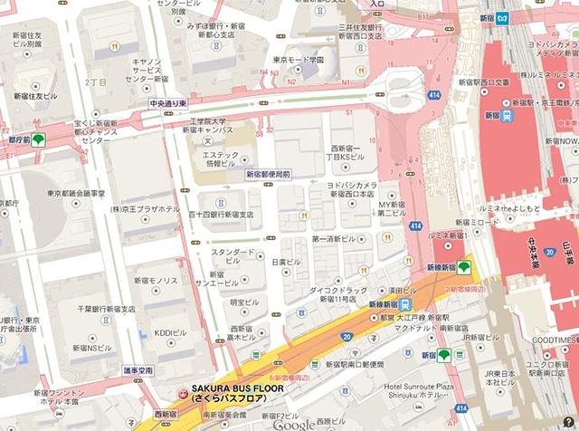 第二佐山ビル地図