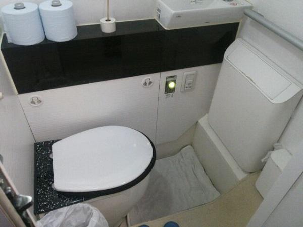 ドリームスリーパーのトイレ