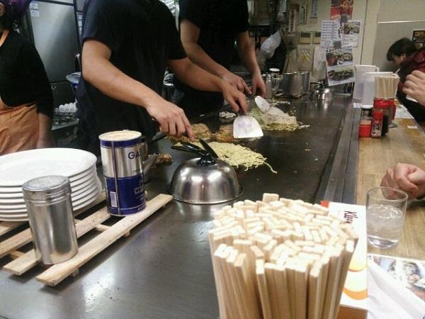 広島アッセの食堂街