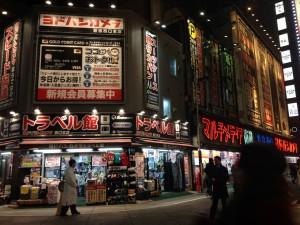 新宿ヨドバシカメラ・トラベル館外観