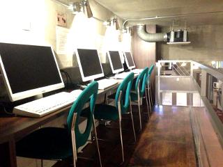 パソコンコーナー 名古屋VIPラウンジ