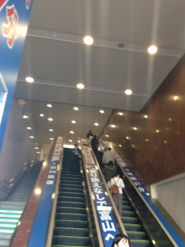 名鉄バスセンター エスカレーター