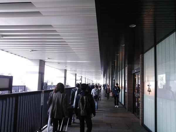 京都駅からの道のり