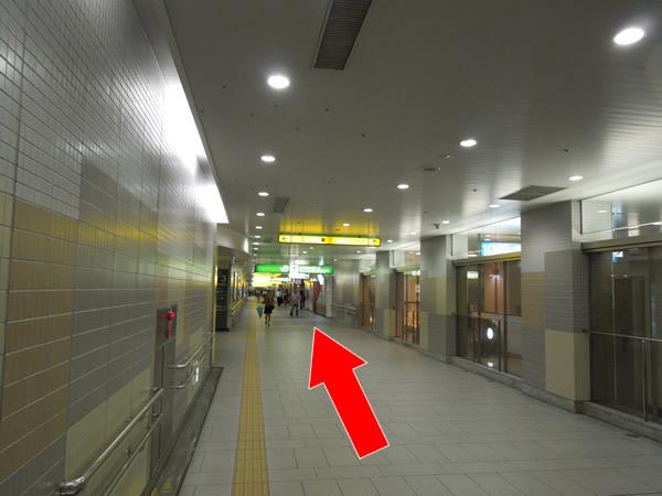 仙台駅東口通路