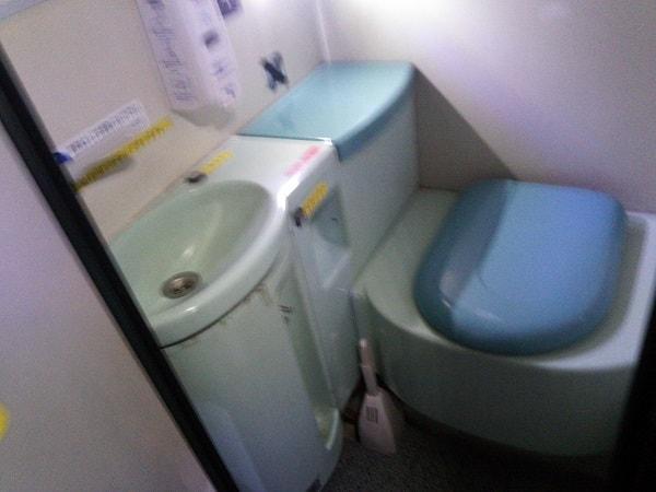2階建てバストイレ