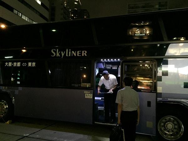 2階建てバス入口