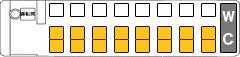 3列シート