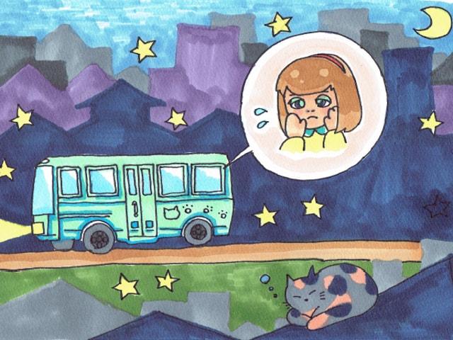 夜行バスでの睡眠アンケート