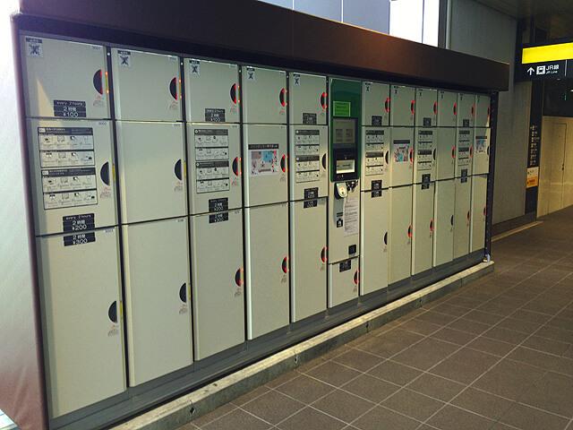 バスタ新宿4階ロッカー