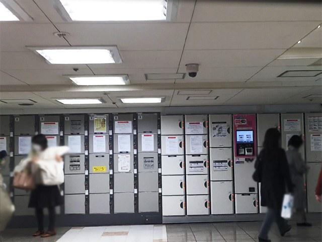 京王線 新宿駅 コインロッカー
