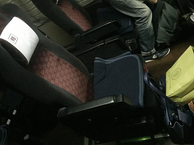 阪急バス 座席単体