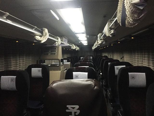 阪急バス 夜行バス シート