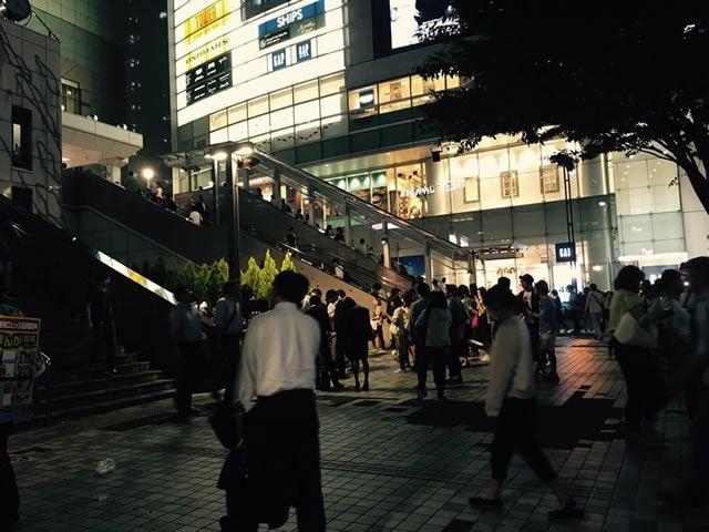 バスタ新宿喫煙所イメージ