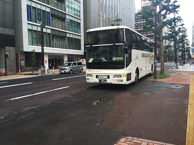 函館特急ニュースター号 到着