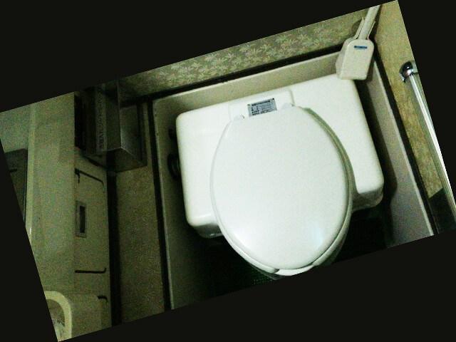 函館特急ニュースター号 トイレ