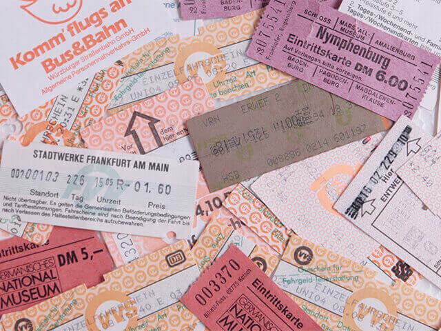 バス チケット