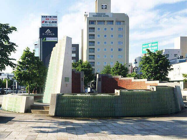 帯広駅 オブジェ