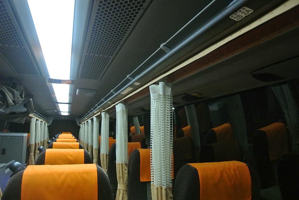 西東京バスバス車内