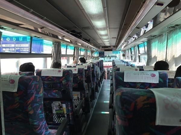 北関東ライナー 車内