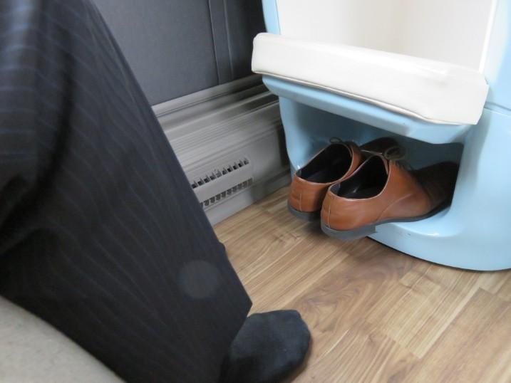 靴収納スペース
